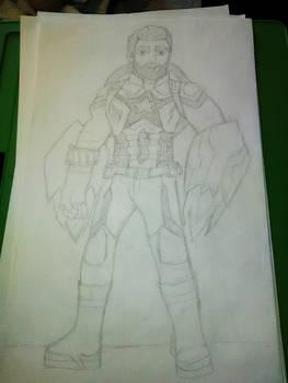 Captain America Infinity War by Ana Smith