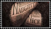Naughty and Nice Stamp by Van-helsa124