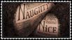 Naughty and Nice Stamp by Van-helsa124