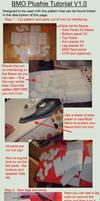 Plush BMO Step by Step