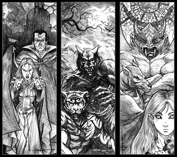 Image result for ravenloft monsters