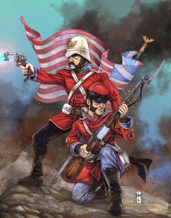 Origins Game Fair: War College 2011 by Everwho