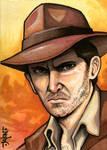 Sketchcard: Indiana Jones