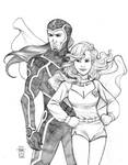 Marauder and Supergirl