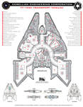 Corellian YT-1930 Deckplan