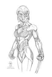 Roxanne D'Aramis (in Nexus Armor)