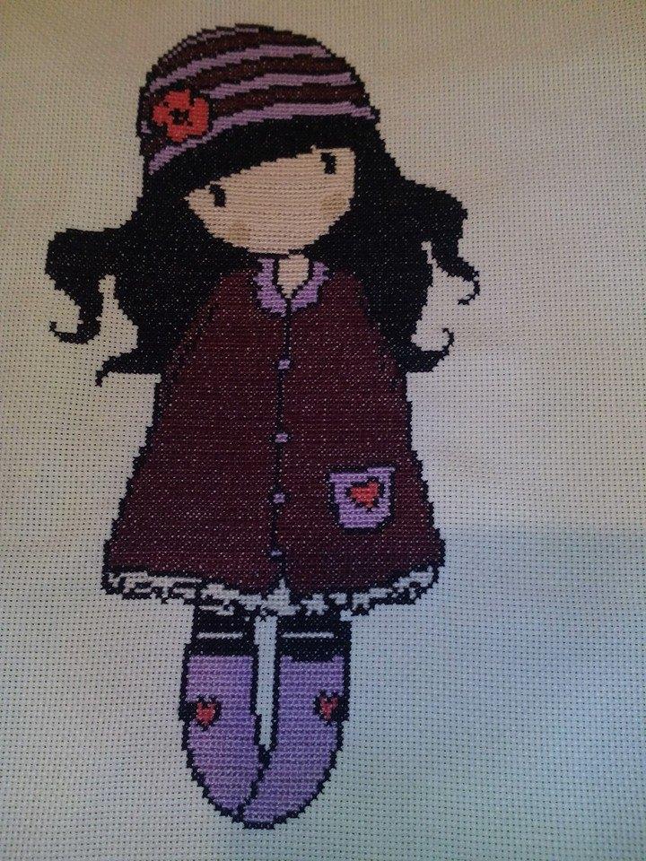 Doll Cross Stitch Pattern