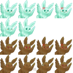 [RPGMaker MV] Faceset - Bunny by ImperialFrance