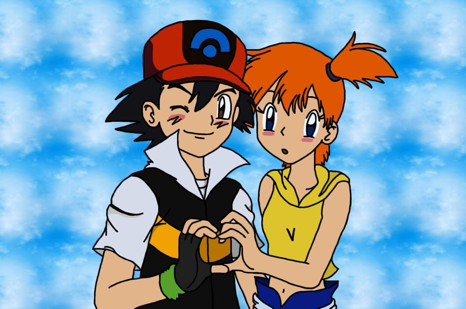 ash and misty relationship