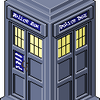 Pixel TARDIS by alexandravan5