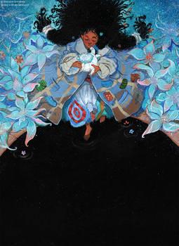 Momo | illustration for book cover