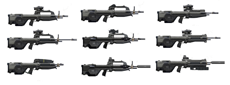 Halo Battle Rifle by GoGlhEaD