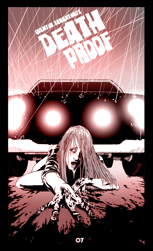 DEATH PROOF FANART by vash2005