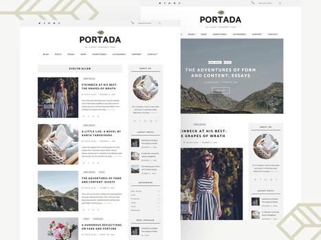 Portada Bergen Demo - Elegant Blog WordPress Theme