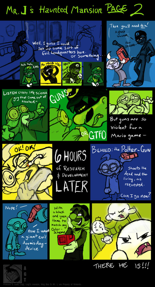 mr  l u0026 39 s haunted mansion page 2 by angry