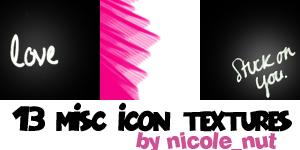 Icon textures 001 by nicolenut