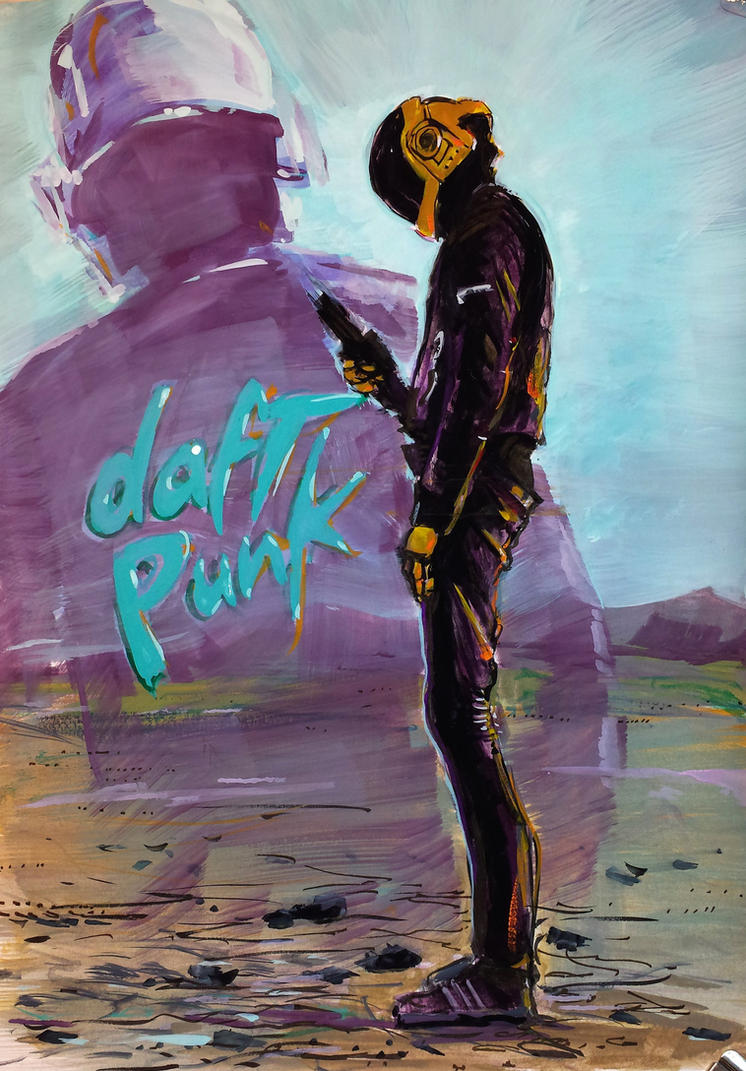 Daft Punk by ArcherMonster