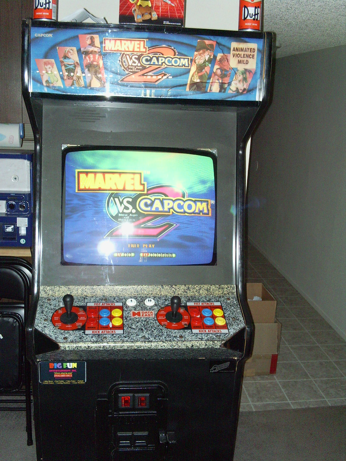 You have a room with space for three arcade machines... - Page 4 ...