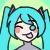 Hatsune Miku Icon Silly