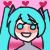 Hatsune Miku Icon Lovey