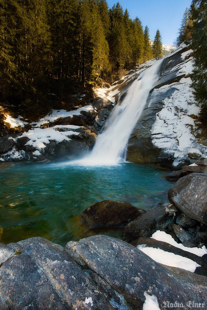 Krimml waterfalls by dead-star