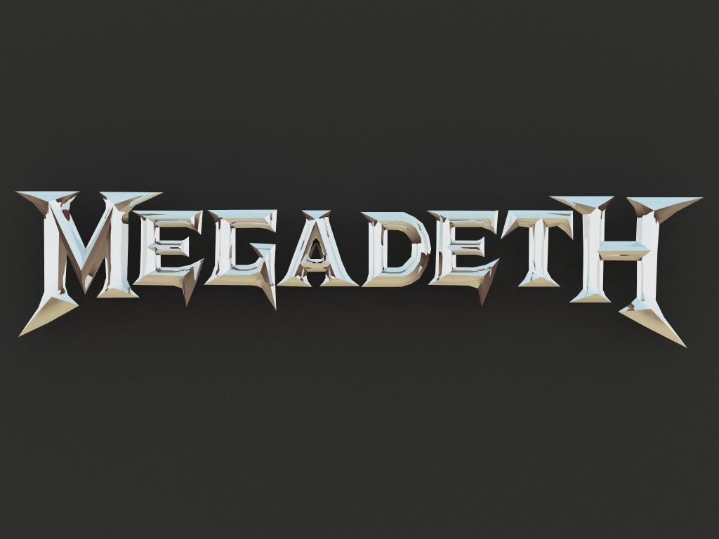 Megadeth Logo | Car Interior Design