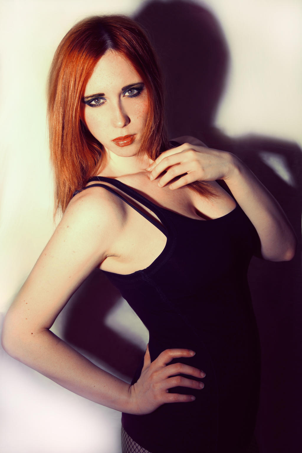 Red hair and attitude by Stephanie-van-Rijn