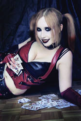 Card game with Harley by Stephvanrijn