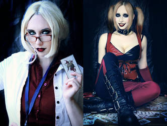 Dr. Harleen Quinzel is Harley Quinn by Stephvanrijn
