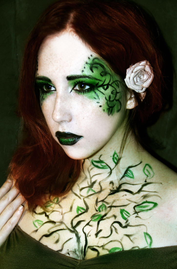 Poison Ivy for Halloween by Stephanie-van-Rijn