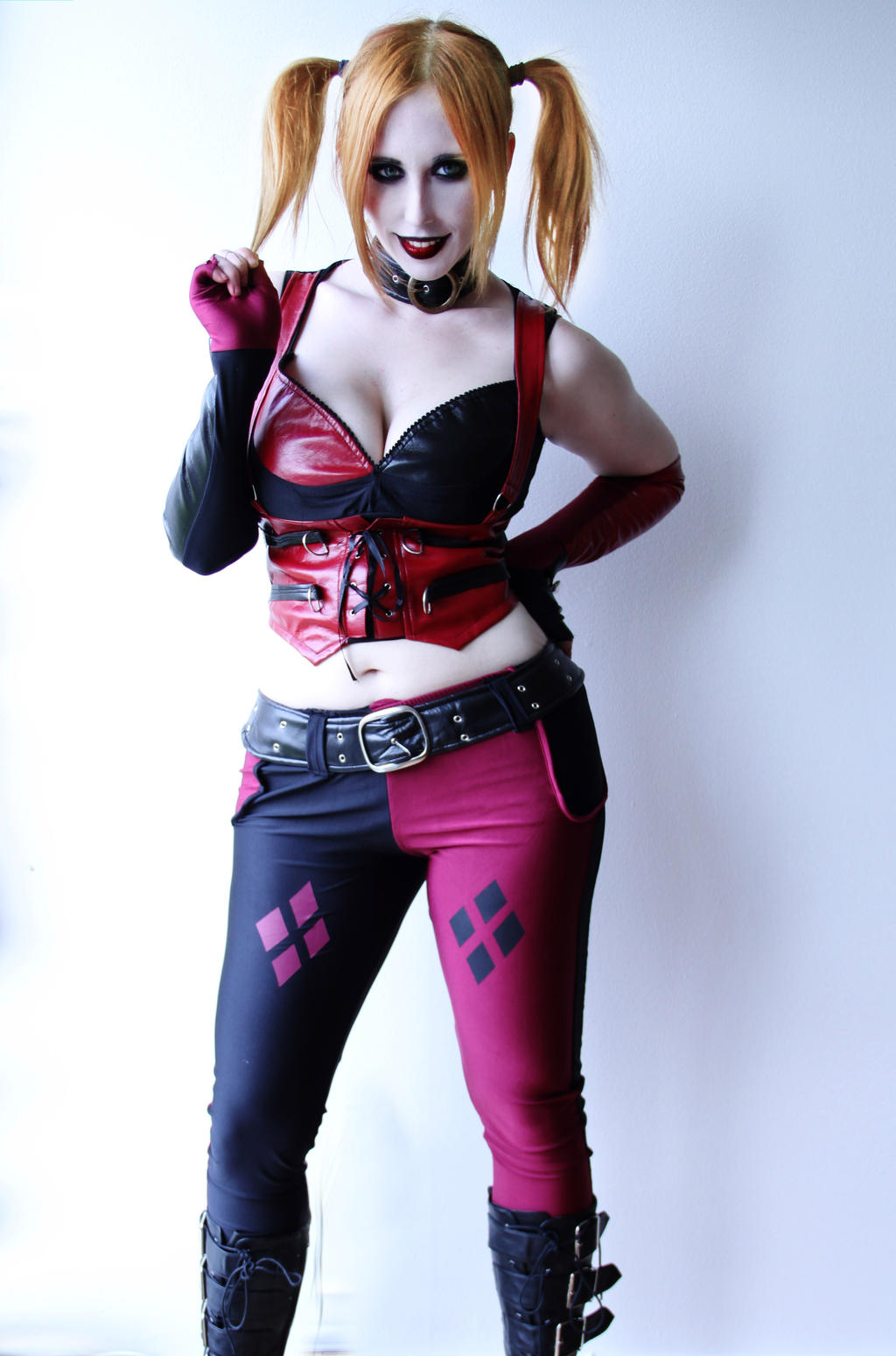 Because it's Harley Quinn by Stephanie-van-Rijn