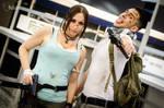 Otakuthon Nathan Drake and Lara Croft 1