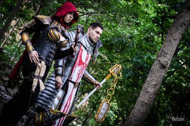 Demon Hunter and Crusader by Stephvanrijn