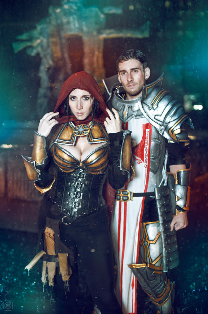 Hunter and Crusader by Stephanie-van-Rijn