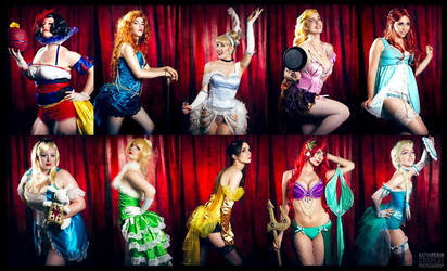 Disney Burlesque by Stephvanrijn