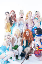 Disney Burlesque Pre mascarade shoot