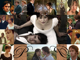 Pride and Prejudice Collage by mad2love
