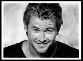 Chris Hemsworth by chucker19