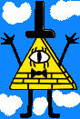 Bill Cipher in the sky