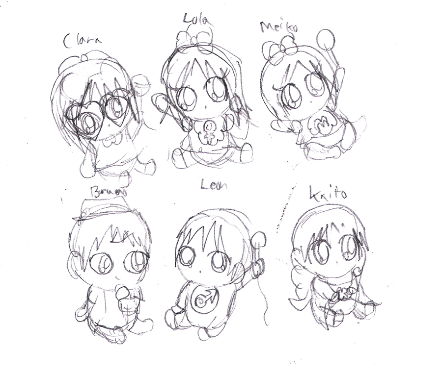 how to draw a baby anime