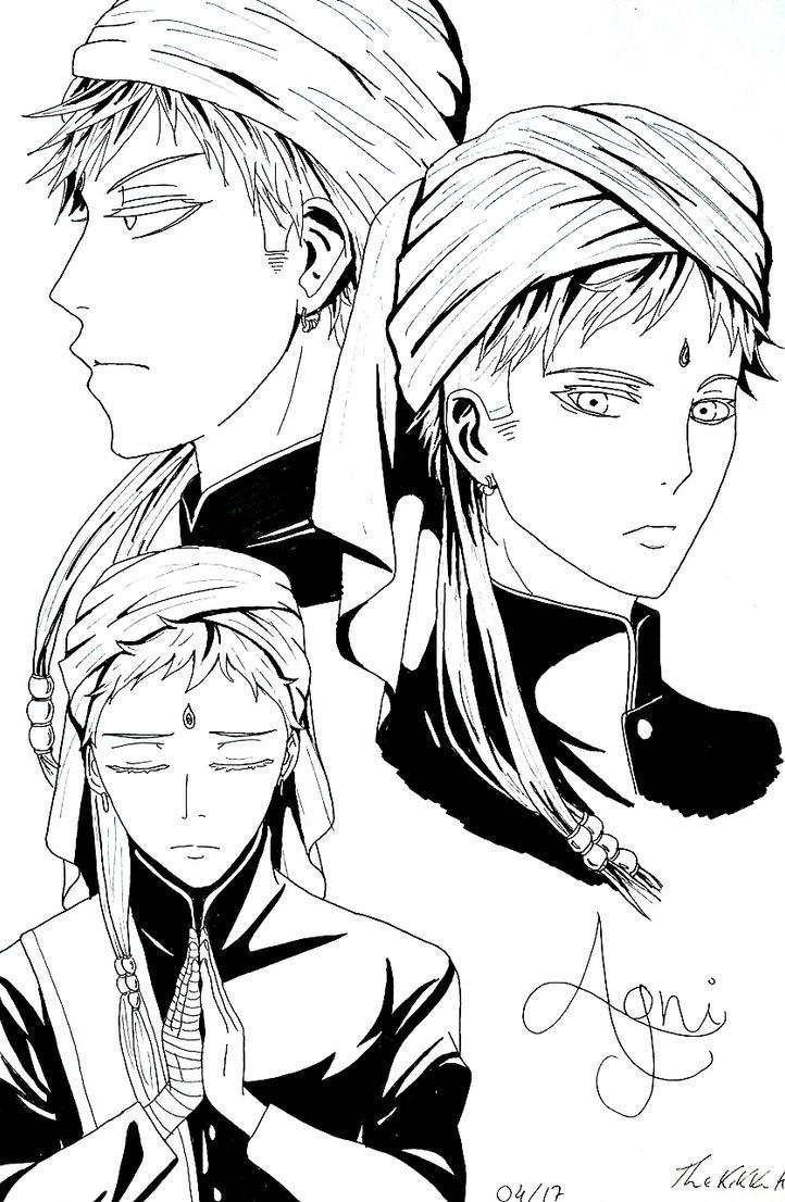 Agni, The Exemplar Butler by TheKikkaKibaz