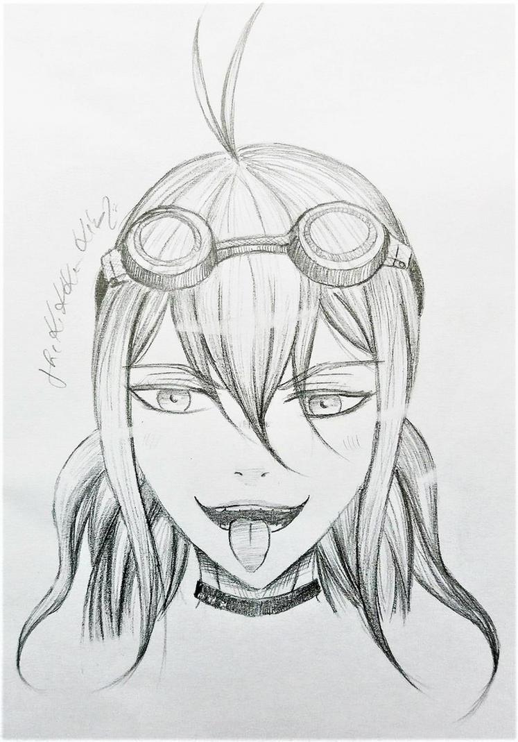 Iruma Miu (NDRV3) by TheKikkaKibaz