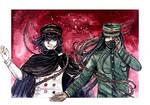Despair Game (Kokichi x Korekiyo) by TheKikkaKibaz
