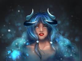 DTIYS Nophie-Blue by TheKikkaKibaz