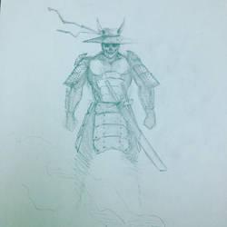 Samurai Sketch 2 by 1frankcastle4