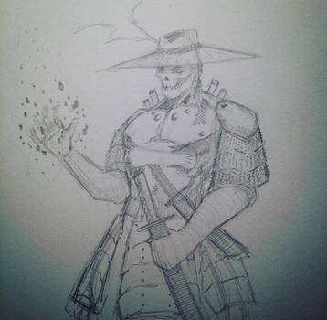 Another character concept for my IP by 1frankcastle4