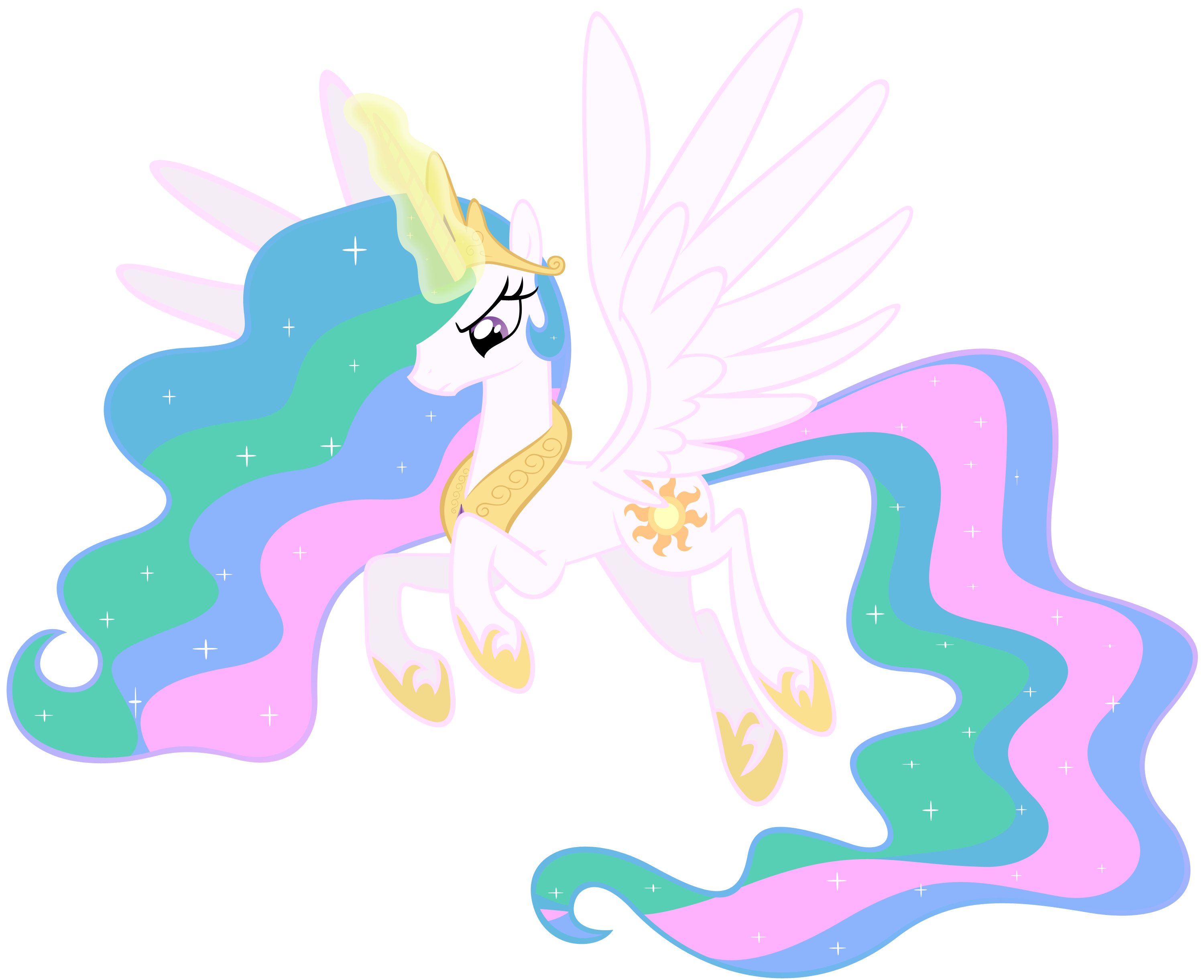 Angry Princess Celestia Princess Celestia is