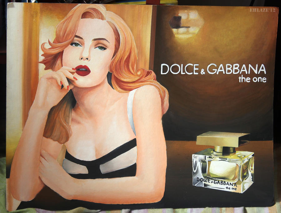 Dolce and gabbana perfume ad