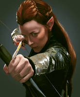 Tauriel by 7max-89-fantasy-cat