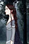 Arwen Undomiel by andi-scribbles